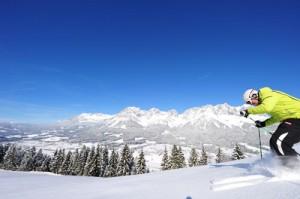 280 Pistenkilometer in der SkiWelt Wilder Kaiser - Brixenthal. Foto: SkiWelt Wilder Kaiser - Brixental
