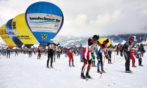 Tannheimer Tal, SKI-Trail Langlaufmarathon. Foto: Tannheimer Tal