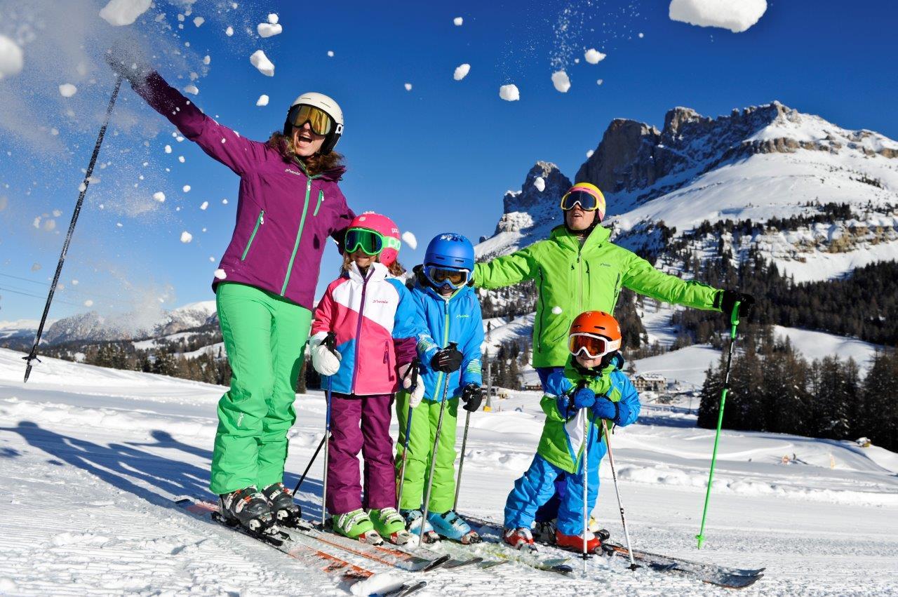 Carezza Ski bietet Schneespaß für die ganze Familie. Foto: Eggental Tourismus