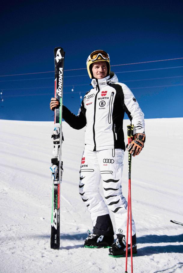 """Ein eingespieltes Team – die Initiative """"Sicher im Schnee"""" von INTERSPORT und der Profi-Rennläufer Felix Neureuther. Quelle: www.sicher-im-schnee.de"""