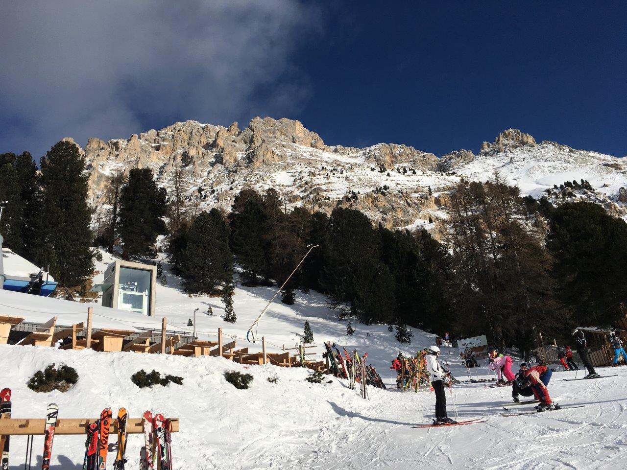 Oberholz Hütte: Ein Tag Im Schnee (und In Den Hütten) Am Latemar