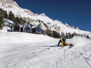 Im Skicenter Latemar. Foto: Eggental Tourismus