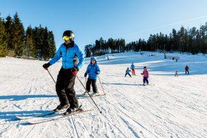 Skifahren im Mühlviertel - Wintersportarena Liebenau ©Tourismusverband Mühlviertler Alm-Hawlan