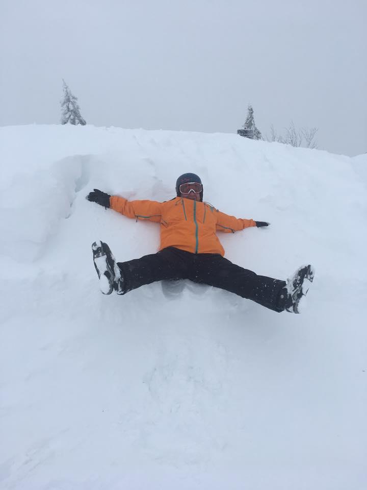 Coole Sache mit dem Schnee!